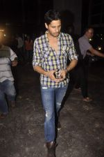 Sidharth Malhotra watch Brothers in Eros Office on 23rd July 2015