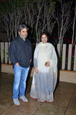 Vishal Bharadwaj, Rekha Bharadwaj at Shahid Kapoor invites all leading directors to his house in Juhu, Mumbai on 23rd July 2015 (22)_55b2535f1f351.JPG