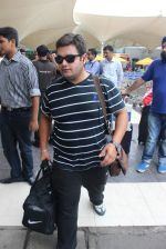 Ajay Nagrath snapped at airport on 24th July 2015