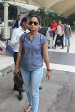 Ansha Syed snapped at airport on 24th July 2015 (24)_55b37aef222f7.JPG