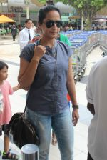 Ansha Syed snapped at airport on 24th July 2015 (26)_55b37af0a9a10.JPG