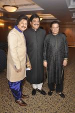 Anup Jalota, Pankaj Udhas at Khazana ghazal festival in Mumbai on 24th July 2015