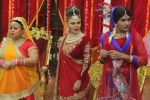 Rakhi sawant on the sets of comedy class on 24th July 2015 (69)_55b37b62240f2.JPG