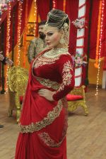 Rakhi sawant on the sets of comedy class on 24th July 2015