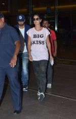 Ranbir Kapoor, Katrina Kaif arrive in mumbai on 24th July 2015