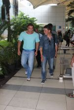 Sohail Khan snapped at airport on 24th July 2015