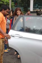 Twinkle Khanna snapped at airport on 24th July 2015