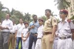 Sunil Shetty at traffic awareness in Colaba on 25th July 2015 (1)_55b4fba81a14d.JPG