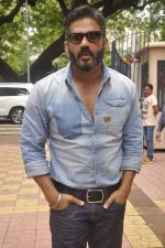 Sunil Shetty at traffic awareness in Colaba on 25th July 2015