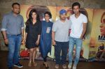 Richa Chadda, Kiran Rao, Aamir Khan, Vicky Kaushal at Masaan screening for Aamir Khan in Mumbai on 26th July 2015