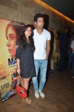 Richa Chadda, Vicky Kaushal at Masaan screening for Aamir Khan in Mumbai on 26th July 2015