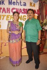 Dilip Joshi, Disha Vakani at taarak mehta ka ooltah chashmah celebrates 8 years in Kandivli on 27th July 2015 (46)_55b71d6e91d2b.JPG