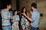 Shweta Tripathi, Richa Chadda, Ritesh Sidhwani, Vicky Kaushal at Masaan screening in Lightbox  on 27th July 2015