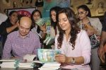 Juhi Chawla snapped at a book launch in Fort on 28th July 2015
