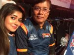 Tina Dutta at the Pro Kabaddi League Match in Kolkata on 28th July 2015 (4)_55b8b8278e33a.JPG