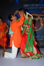 Siddarth Jadhav at the Music launch of film Dholki on 29th July 2015