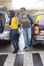 Aftab Shivdasani snapped at the airport on 31st July 2015