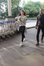 Anushka Sharma snapped at the airport in Mumbai on 31st July 2015