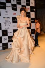 Kalki Koechlin on Day 2 at India Couture week on 30th July 2015