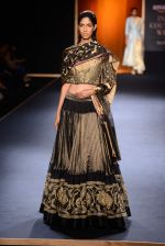 Model walks for Rahul Mishra at India Couture week day 2 on 30th July 2015