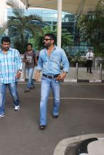 Sunil Shetty snapped at the airport in Mumbai on 31st July 2015