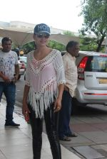 Urvashi rautela snapped at airport on 30th July 2015