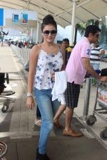 snapped at the airport on 31st July 2015