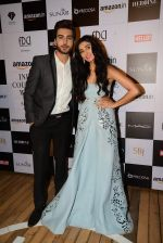Imran Abbas, Perina Qureshi at Monisha Jaising Show at AICW 2015 Day 3 on 31st July 2015