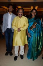 Kavita Krishnamurthy, L. Subramaniam at the music launch of Gour Hari Dastaan on 31st July 2015 (62)_55bca9fa1640c.JPG