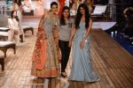 Kriti Sanon, Perina Qureshi walk the ramp for Monisha Jaising Show at AICW 2015 Day 3 on 31st July 2015