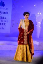 Model walk the ramp for Anju Modi Show at AICW 2015 Day 3 on 31st July 2015