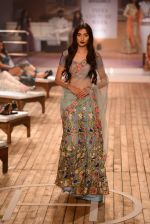 Model walk the ramp for Monisha Jaising Show at AICW 2015 Day 3 on 31st July 2015