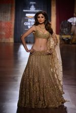 Shilpa Shetty at  India Couture Week on 1st Aug 2015