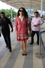 Kangana Ranaut snapped at the airport on 1st Aug 2015