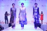 Model at Fashion show, Melange with collections by Payal Singhal on 1st Aug 2015
