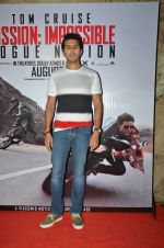 Ritesh Sidhwani at a special screening of Mission Impossible 5 in Lightbox on 1st Aug 2015
