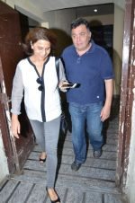 Rishi Kapoor and Neetu Singh snapped at PVR on 2nd Aug 2015 (4)_55bf1a4863ed5.JPG