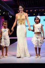 Tara Sharma at Smile Foundations Fashion Show Ramp for Champs, a fashion show for education of underpriveledged children on 2nd Aug 2015