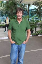 Chunky Pandey snapped at Mumbai airport on 3rd Aug 2015