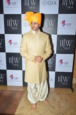 Karanvir Bohra on Day 1 at IIJW 2015 on 3rd Aug 2015
