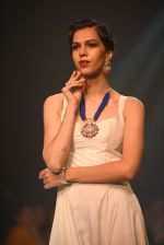 Model walk for Manali Jagtap Show at IIJW 2015 on 4th Aug 2015