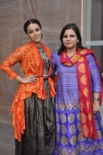 Swara Bhaskar at Lakme fashion week preview in Mumbai on 3rd Aug 2015