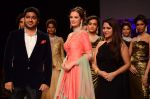 Evelyn Sharma walk the ramp for IIJW 2015  Day 2 on 4th Aug 2015