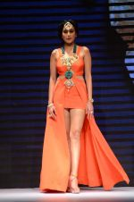 Kamya Punjabi walk the ramp for IIJW 2015  Day 2 on 4th Aug 2015