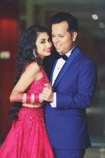 Luv & Hemali at Luv Isranis wedding wrap up party 2_55c1b2e5b725e.jpg