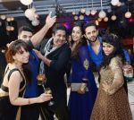 rahul vaidya + Megha israni + Dhawal+Jankee + Bhavin + harshi at Luv Hemali Sangget PARTY_55c1b30933597.jpg