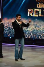 Abhishek Bachchan on the sets of Jhalak Dikhlaajaa on 5th Aug 2015