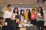 Jacqueline Fernandez, Lisa Haydon, Manasi Scott, Elli Avram, Anjana Sukhani at Namrata Purohit_s The Lazy Girl_s Guide to Being Fit book Launch in crossword Kemps Corner on 5th Aug 2015 (51)_55c31c0bf2e55.JPG