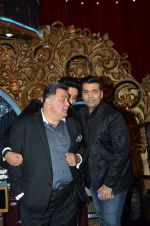 Rishi Kapoor on the sets of Jhalak Dikhlaajaa on 5th Aug 2015