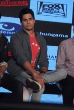 Sidharth Malhotra at the Trailor launch of brothers  on 5th Aug 2015